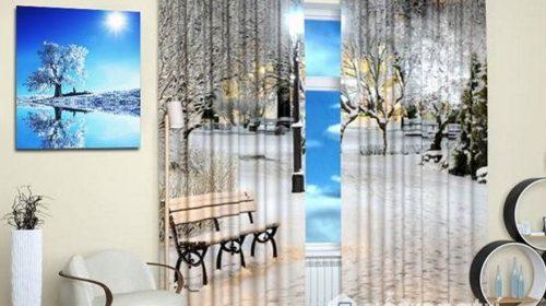Rèm cửa sổ phòng khách đẹp ngất ngây mà ai cũng bị mê hoặc