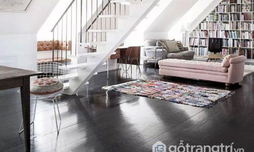 Sàn nhà tối màu HOT nhất năm 2018 mà bạn không nên bỏ qua