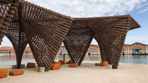 """Thích thú với công trình làm từ """"thép xanh"""" của người Việt tại Ý"""