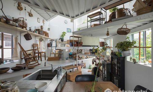 Thiết kế nhà ở xếp tầng linh hoạt tạo nên 7 tầng sống đặc biệt
