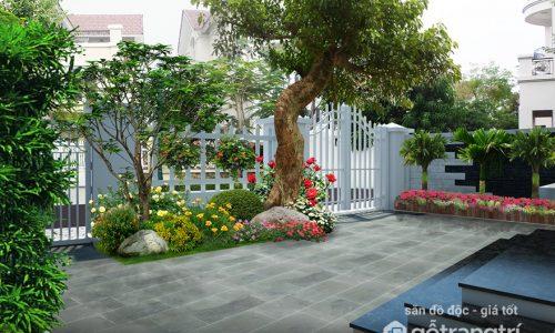 Những nguyên tắc phong thủy cần nhớ khi trồng cây trang trí sân vườn