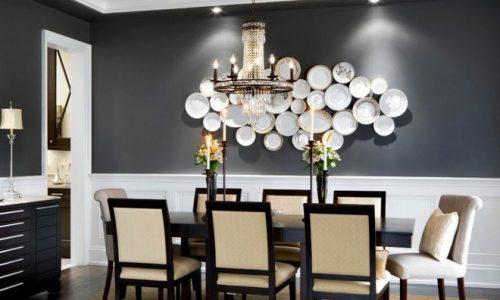 Trang trí tường bằng đĩa vừa rẻ vừa dễ, lại độc lạ, bạn đã thử chưa?