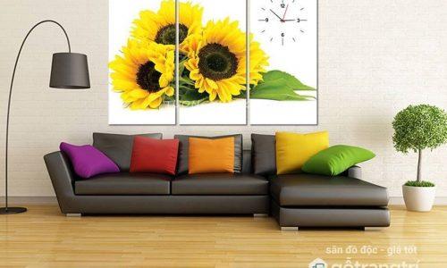 6 loại tranh treo phòng khách mang lại may mắn tài lộc cho gia chủ