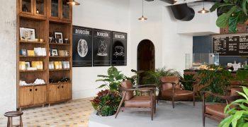Ẩn náu tại quán cà phê Devoción ở Brooklyn như một vườn nhiệt đới