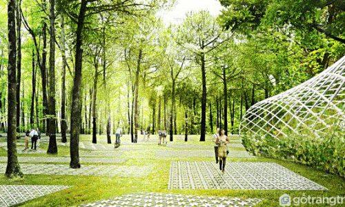 Khám phá công viên công cộng khổng lồ Parkorman ở Istanbul