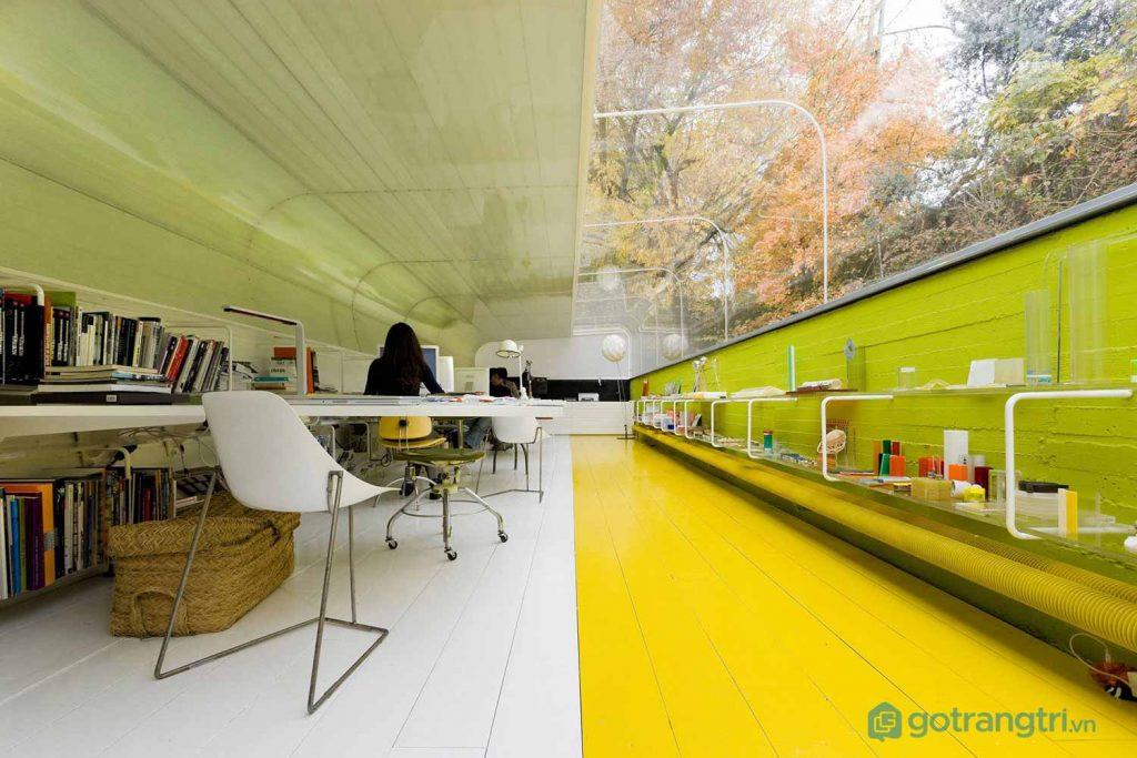 Thiết kế nội thất văn phòng của Selgas Cano