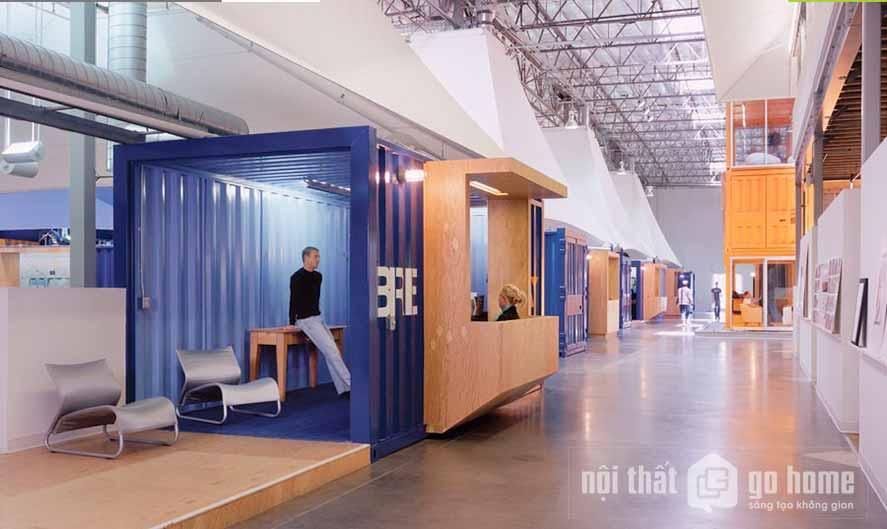 Thiết kế nội thất văn phòng của Pollota Teamworks