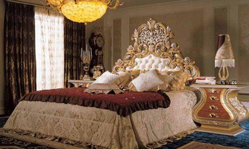 Thiết kế nội thất phòng ngủ kiểu Ý