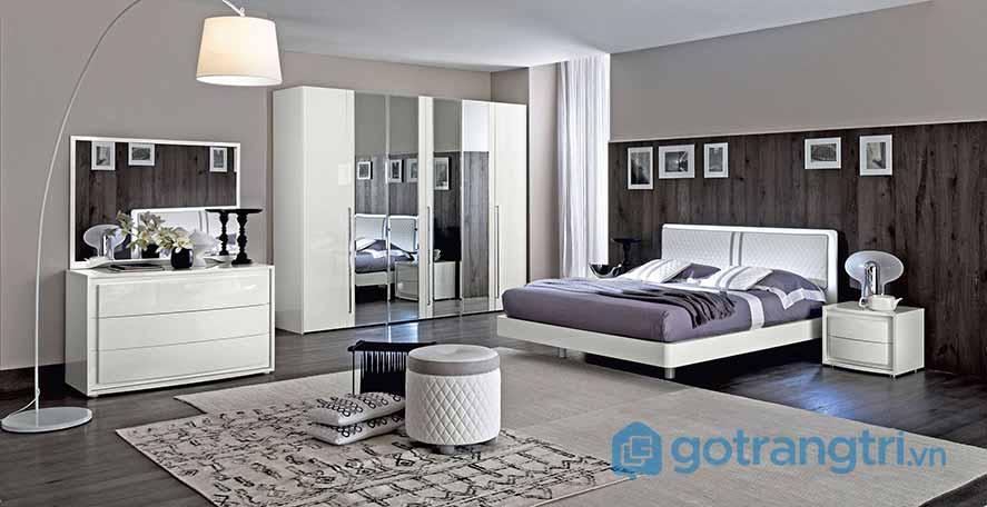 Thiết kế nội thất phòng ngủ phong cách Scandinavian