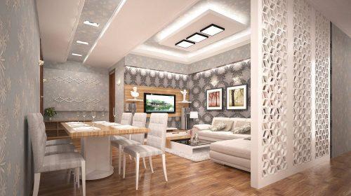 Vẻ đẹp hút hồn của thiết kế căn hộ chung cư 70m2