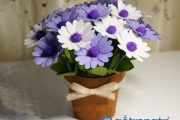 Hướng dẫn cách làm chậu hoa handmade trang trí nhà cực dễ thương