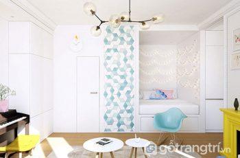 Lộ diện căn hộ 42m2 tràn ngập không gian sống với tông màu trắng