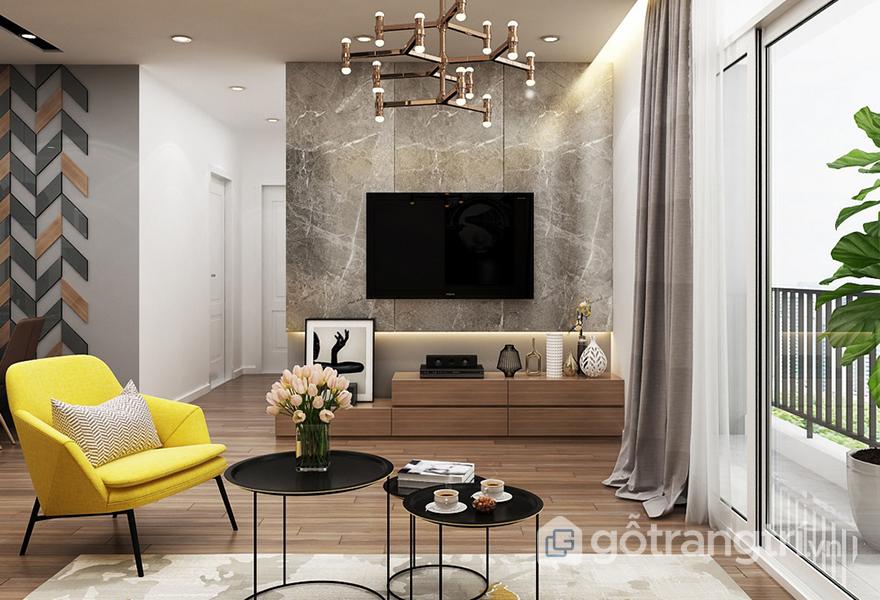 Bạn có thể sắp xếp linh hoạt những món đồ nội thất trong không gian của mình