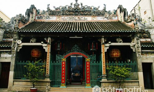 Chùa bà Thiên Hậu - Di tích kiến trúc nghệ thuật cấp quốc gia 1993