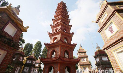 Chùa Trấn Quốc - Kiến trúc chùa đẹp bậc nhất thế giới tại Hà Nội