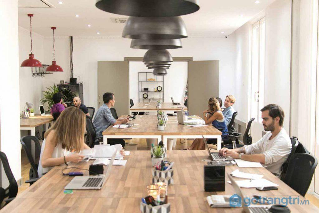 Thiết kế nội thất không gian văn phòng mở