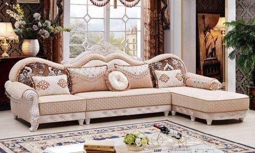 Chiêm ngưỡng nội thất phòng khách biệt thự sang trọng kiểu Pháp