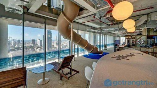 Choáng ngợp trước thiết kế nội thất văn phòng hiện đại của gã khổng lồ Google