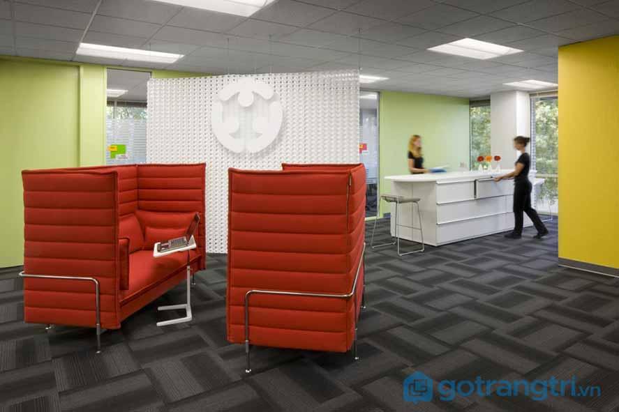 Thiết kế nội thất văn phòng Google