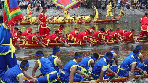 Lễ hội bơi Đăm ở Hà Nội -  Di sản văn hóa phi vật thể cấp quốc gia