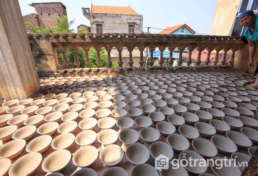 Làng gốm Kim Lan - Ảnh: Nghiêm Phú Lâm