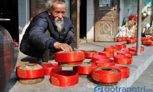 """Thăm làng Giáp Nhất - Làng nghề khăn xếp """"độc nhất"""" miền Bắc"""