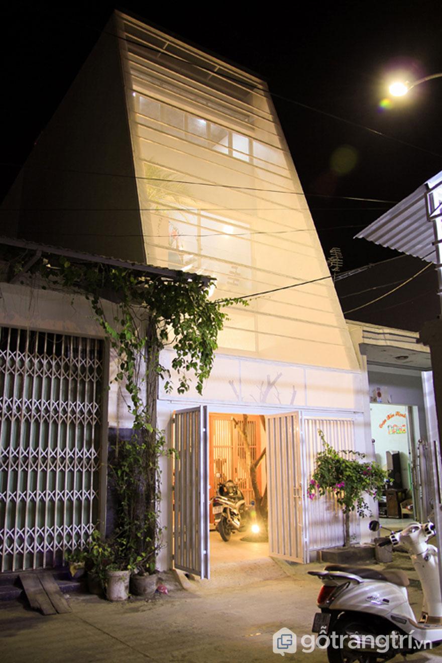 Nhà tổ kén Nha Trang - Ảnh: TaDalat Design