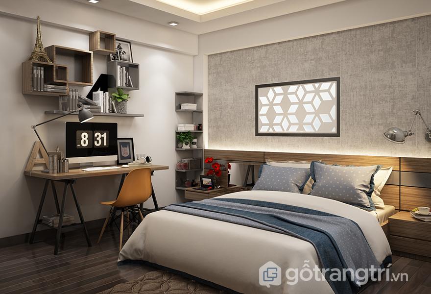 Không gian nội thất vân gỗ mang vẻ đẹp hài hòa