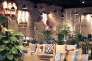 Quán cafe không gian xanh - Thiết kế phong cách đan xen với cây xanh