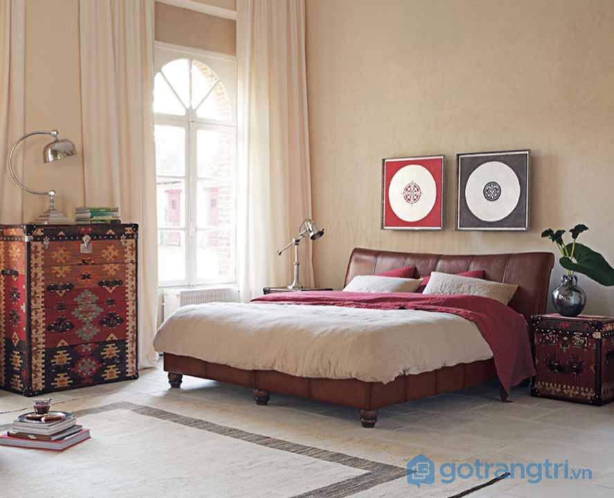 Thiết kế nội thất phòng ngủ phong cách Retro