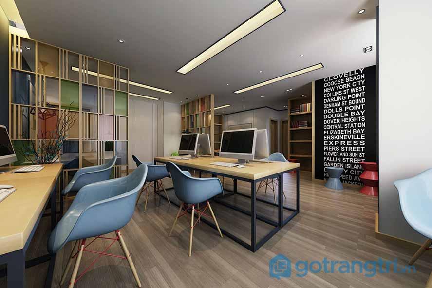 Thiết kế nội thất văn phòng không có yếu tố không gian xanh