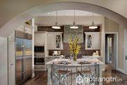 15 mẫu sàn gỗ công nghiệp tỏa sáng căn bếp gia đình – Phần 2