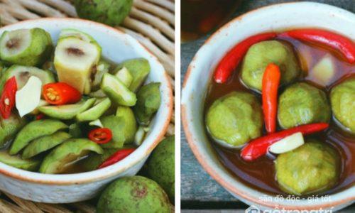 Cách làm sấu ngâm mắm ớt ngon tuyệt cho bữa cơm mùa hè