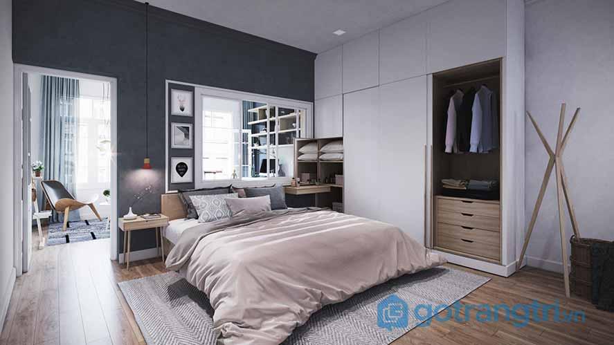 Thiết kế phòng ngủ theo phong cách Scandinavian