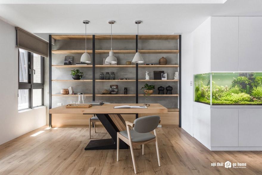 Thiết kế không gian làm việc theo xu hướng hiện đại