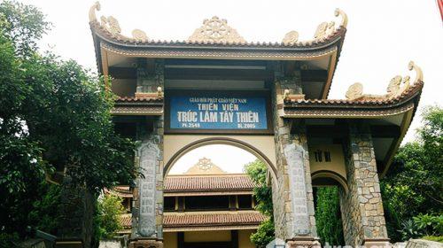 Thiền viện Trúc Lâm Tây Thiên - Công trình kiến trúc đặc sắc ở Vĩnh Phúc