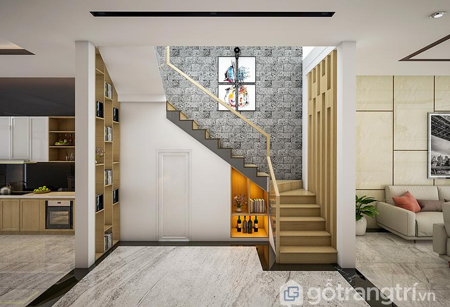 Những mẫu cầu thang mang phong cách tối giản