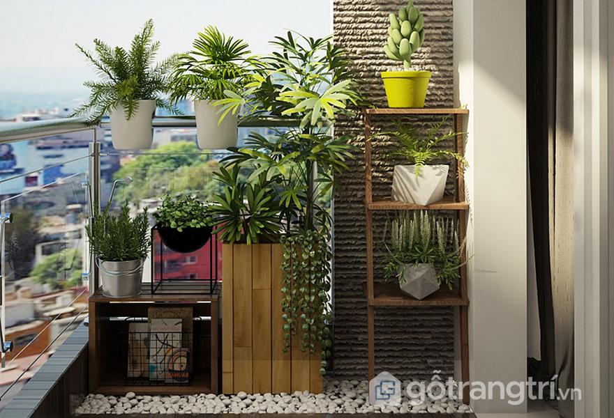 Thiết kế logia tạo không gian thư giãn, xua tan sự bí bách trong căn hộ