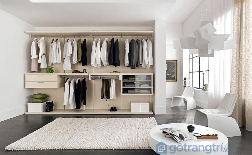 Tủ áo mang đến sự tiện nghi cao cho căn phòng