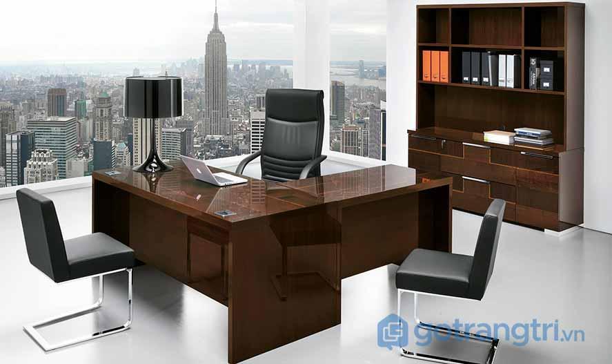 Thiết kế nội thất văn phòng cho người mệnh thổ