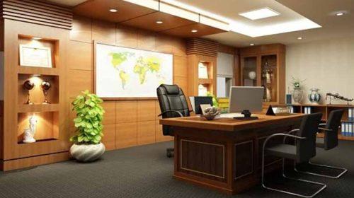 Phong thủy thiết kế nội thất phòng làm việc cho người mệnh Thổ