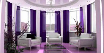 """""""Chết lịm"""" trước vẻ đẹp ngọt ngào của mẫu thiết kế nội thất màu tím mộng mơ"""