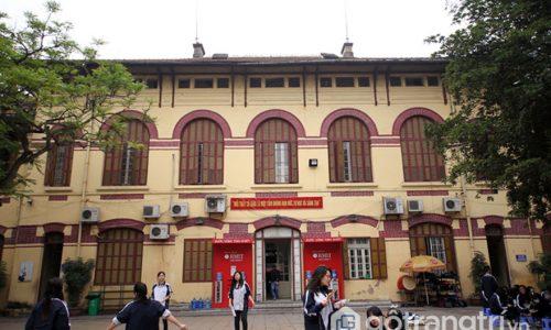 Trường Trần Phú Hà Nội - Công trình kiến trúc đẹp ở Việt Nam