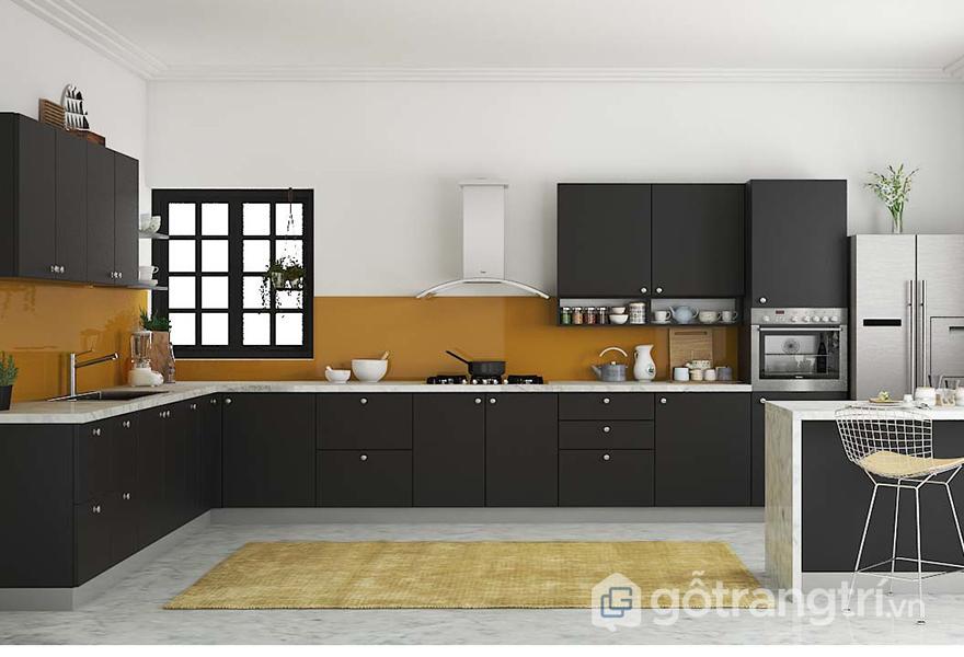 Gian bếp dễ dàng được nới rộng hơn