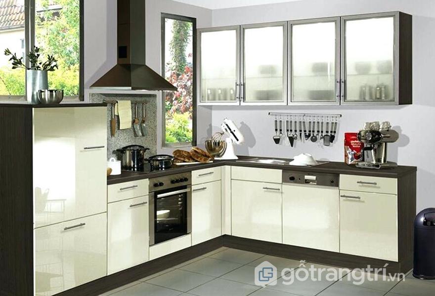 Tủ bếp mang phong cách hiện đại