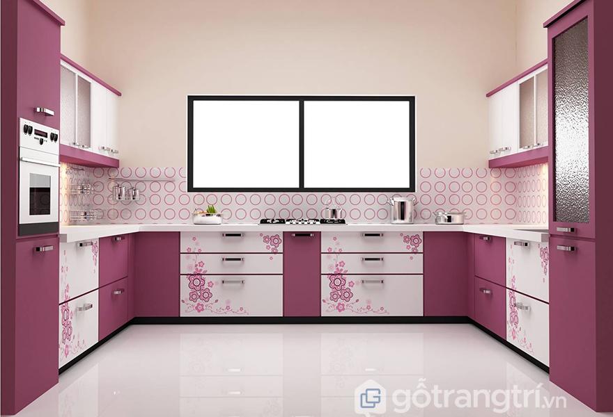 Chi phí khách hàng bỏ ra cho loại bếp này có phần cao hơn những thiết kế tủ bếp khác
