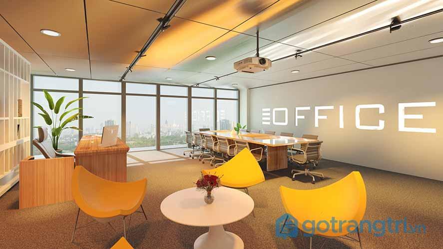 Thiết kế nội thất văn phòng đa năng
