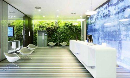 Phong cách thiết kế nội thất văn phòng ấn tượng của năm 2018