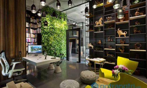Mê mẩn trước trào lưu thiết kế văn phòng xanh của thế giới
