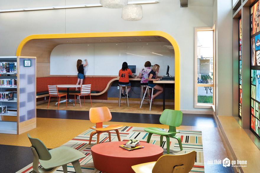 Thiết kế không gian làm việc cộng tác mở